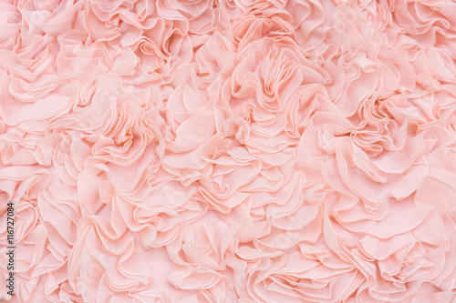 Canvas-taulu Luxury bridal gown wedding dress background texture.