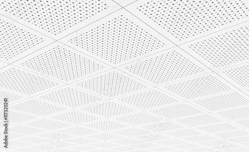 Canvas Print Acoustic ceiling tiles