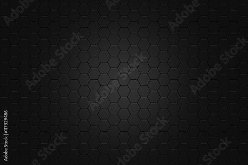 abstract Digital futuristic honeycomb background design metalic look