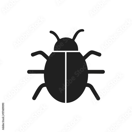 Foto bug insect infection parasite icon