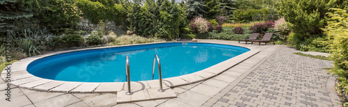 Fotografia, Obraz Who would not want to have a pool?