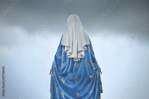 Carta da parati Virgin mary statue