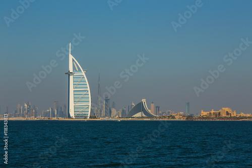 Fotografia luxury hotel Burj Al Arab