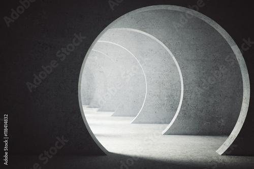teksturowany-tunel-betonowy