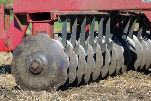 Canvas Print tillage farm tool