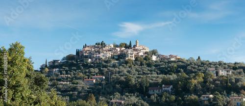 фотография Mountain old village Coaraze, Provence Alpes Cote d'Azur, France