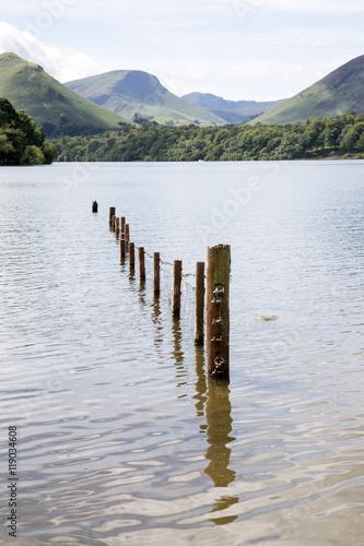 Canvastavla Derwent Water, Keswick, Lake District