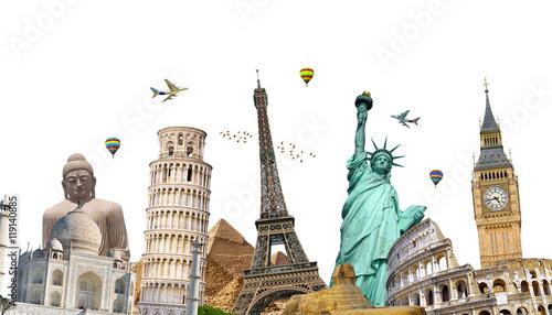 Photo Famous landmarks of the world