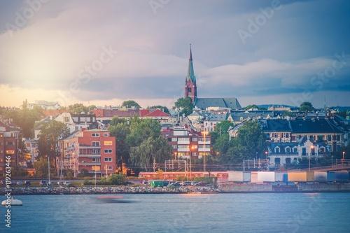 Wallpaper Mural Oslo Norway Oceanfront