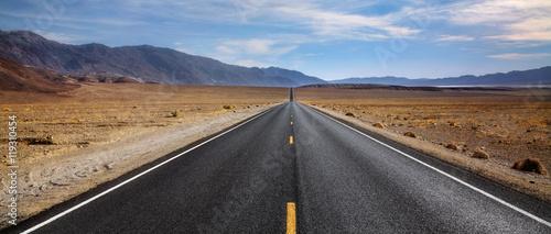 Fotografia, Obraz Desert Highway