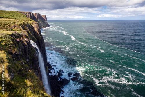 Obraz na płótnie Cascata di Kilt Rock, Isola di Skye
