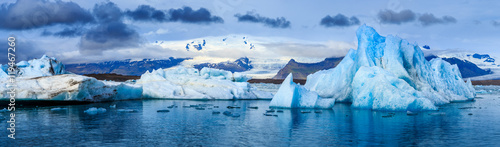 Fotografia Glacial Lagoon, Iceland
