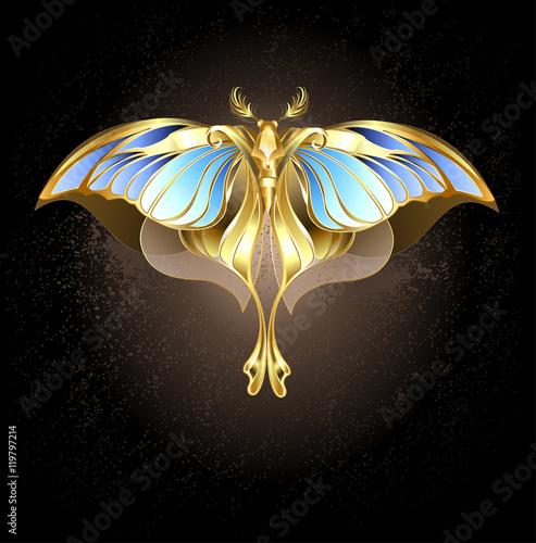 mechanical moth Fototapeta