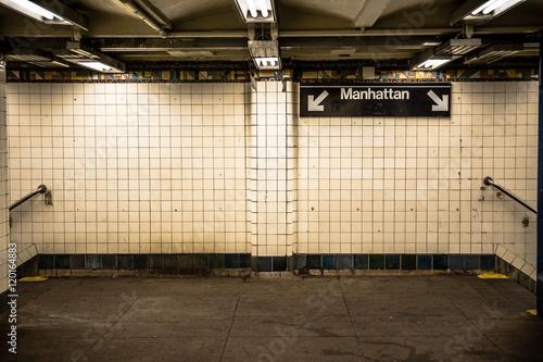 lonely new york subway