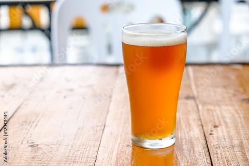 фотография Craft beer in the glass