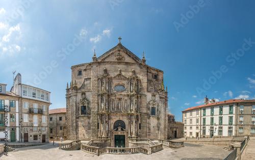Monasterio e Iglesia de San Martiño Pinario e Praza de San Martiño de Santiago d Fototapete