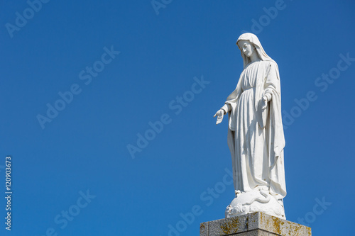 Fotografia Mother mary from above