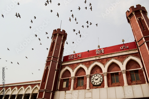 Old Delhi Train Station, India