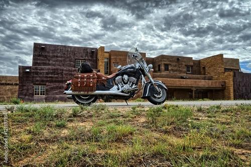 Fotografia Motorrad Abenteuer