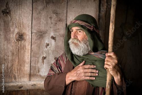 Obraz na plátne Apostle Peter denying knowing Jesus