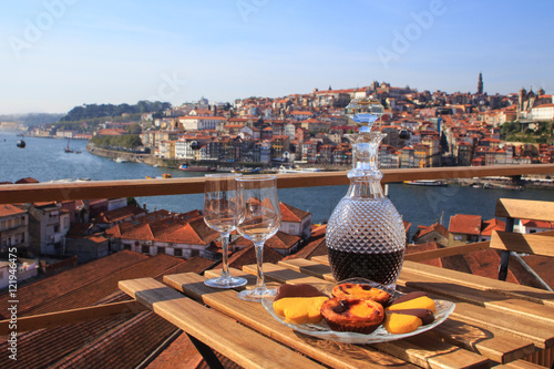 Port wine with a view