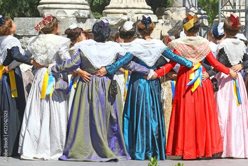 Canvas Print Danse provençale