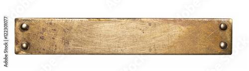 Obraz na plátně Metal plate texture