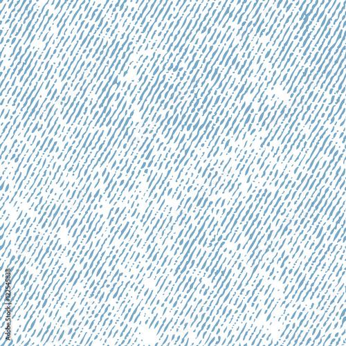 Fototapeta Seamless white jeans texture