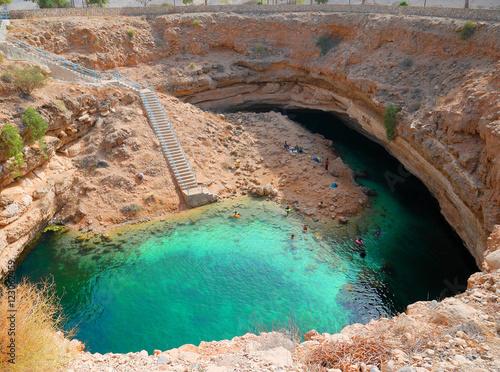 Fotografie, Obraz Bimmah sinkhole, Oman