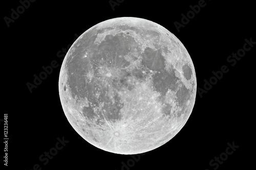 Fotografiet Full moon closeup