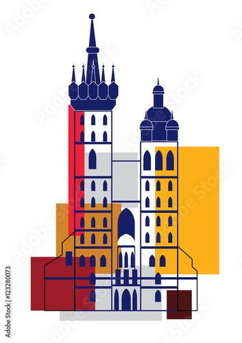 Church of St. Mary in Krakow