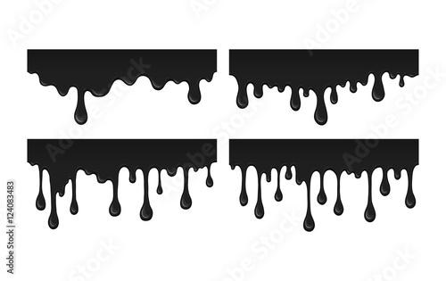 Oil leak Fototapeta