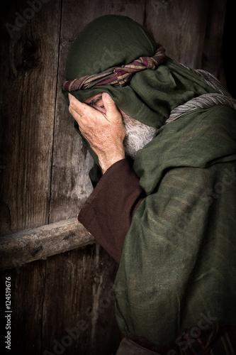 Fototapeta Peter's denial of Jesus
