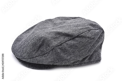 Fényképezés gray flat cap