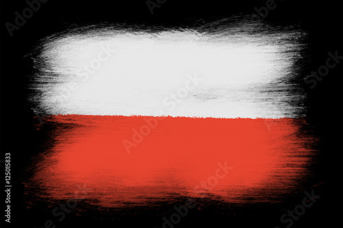 Wallpaper Mural The Polish flag