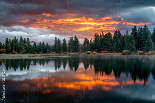 Slika na platnu Morning sunrise
