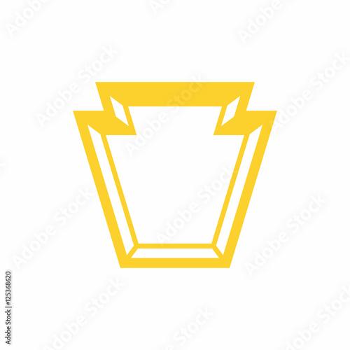 Valokuva Keystone Shape - Vector Logo Icon