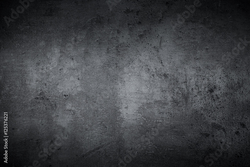 Pusta czarna betonowa kamień powierzchni tekstura