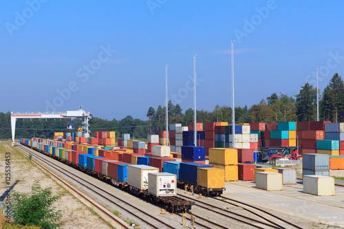 Train Container Terminal