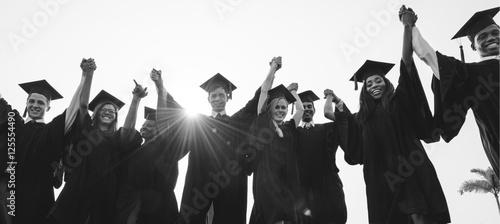 Canvas Print Graduation Achievement Student School College Concept