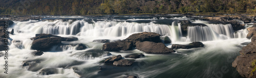 Sandstone Falls on New River Summers County West Virginia