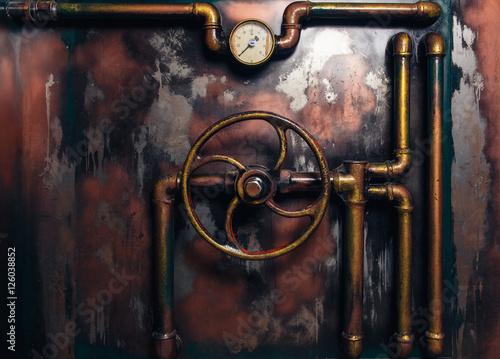 Obraz na płótnie background vintage steampunk
