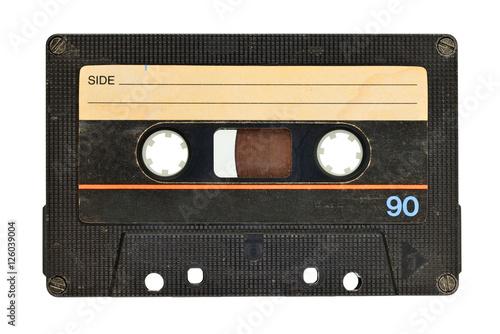 Fototapeta Old audio tape cassette