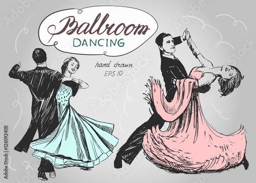 Fotografia Ballroom dance