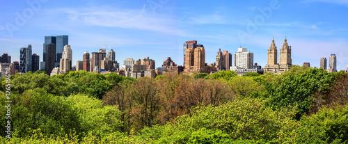 Canvas New York City / Central Park vu du MET
