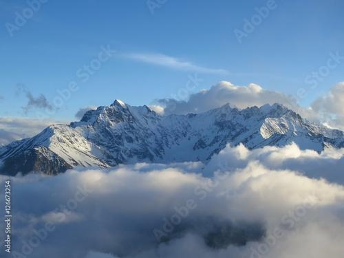 Canvas Print горы