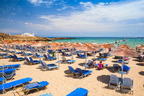Beach in Vassilikos, Zakynthos, Greece фототапет