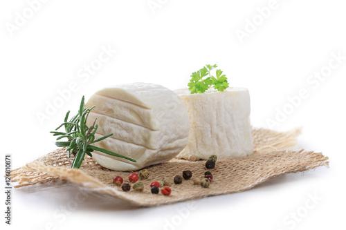 Canvas Print fromage de chèvre