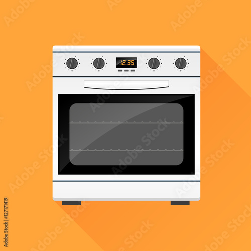 stove gas oven design icon Fototapet