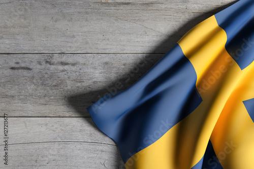 Wallpaper Mural Kingdom of Sweden flag